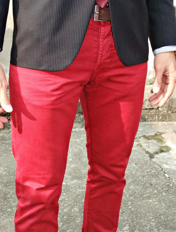 ENERGIE 的 紅色休閒褲