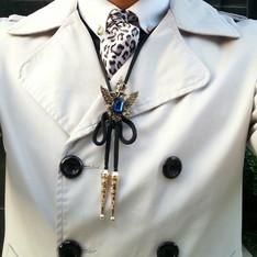 無品牌 的 皇冠老鷹保羅領帶