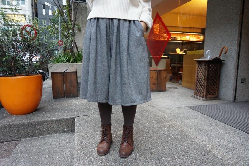 MY BASIC SELECT 的 五分棉麻日系褲裙
