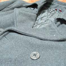 ZIP 的 雙排釦外套