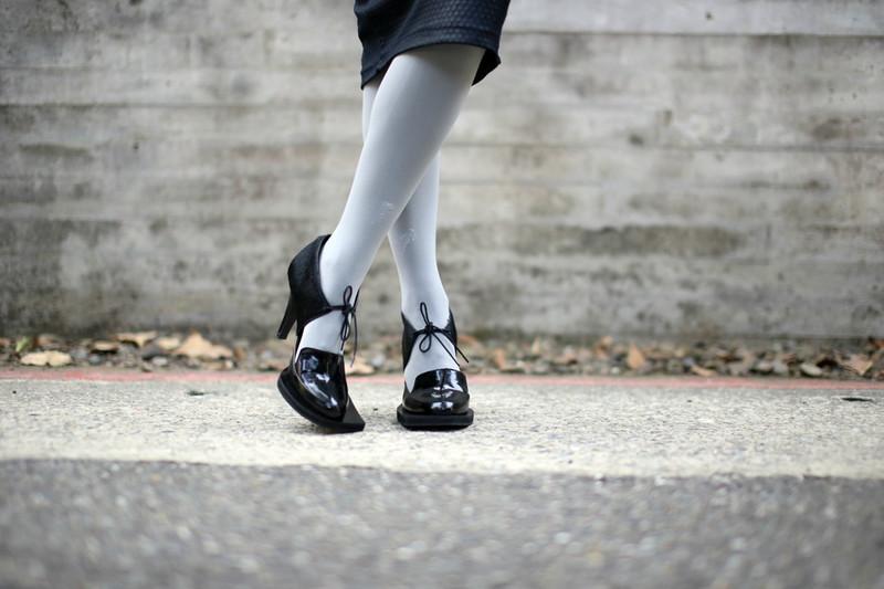 J. JS LEE 的 復古高跟鞋