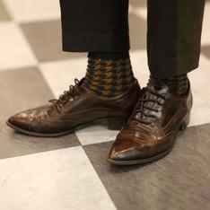 ZARA 的 雕花牛津鞋