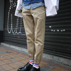 PLAIN-ME 的 縮口褲