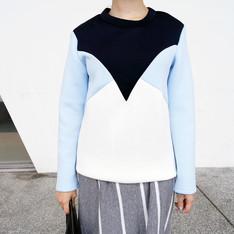 PURSUNMALL 的 太空棉上衣