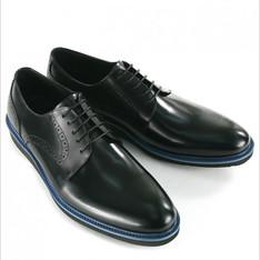 英倫高質感真牛皮厚底皮鞋 的 厚底皮鞋