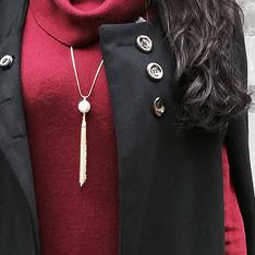 A RING 一枚戒指 的 珍珠項鍊