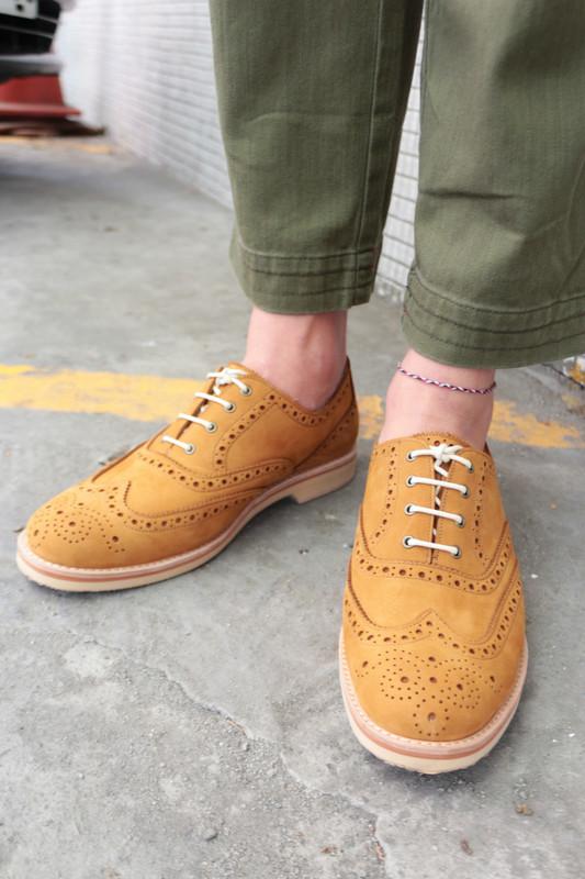 O'RINGO 林果良品 的 雕花鞋