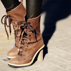 韓貨 的 綁帶靴