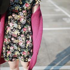 無品牌 的 花花洋裝