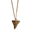GIVENCHY 的 SHARK TOOTH NECKLACE WITH CRYSTALS
