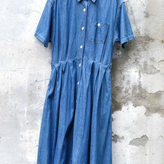 HEAD LOVER 愛頭牌 的 VINTAGE DENIM DRESS