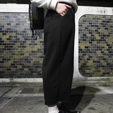 U1 OF STYLE 的 黑色寬褲