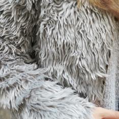 無品牌 的 毛毛外套