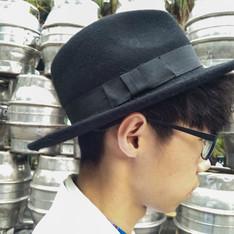 無品牌 的 大帽沿紳士帽