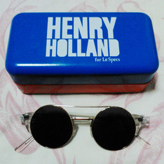 HENRY HOLLAND X LE SPECS 的 圓形墨鏡
