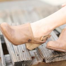 TIMBERLAND 的 粗跟涼鞋