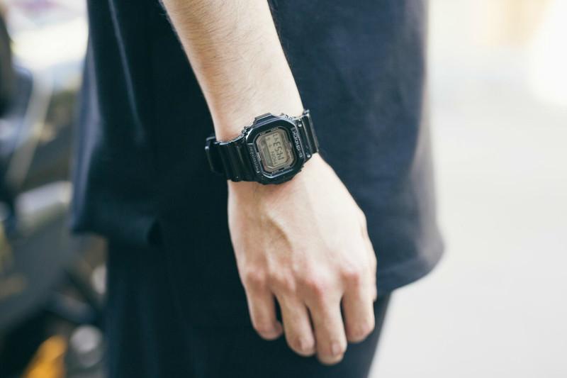 CASIO G-SHOCK 的 CASIO 淺水錶