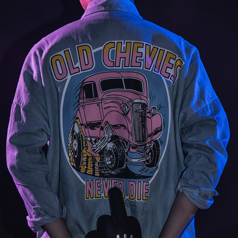 NO BRAND 的 OLD CHEVIES NEVER DIE