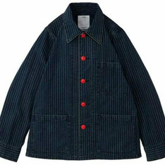 VISVIM 的 WABASH STRIPE COVERALL