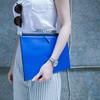 ZARA 的 寶藍色手拿包