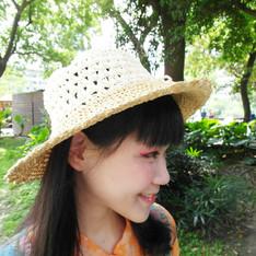 無品牌 的 竹編帽