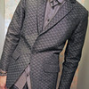 MR. TIGER 的 壓紋西裝外套