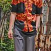 HYPNOTIC ACE TYLER 的 紅花夏威夷衫