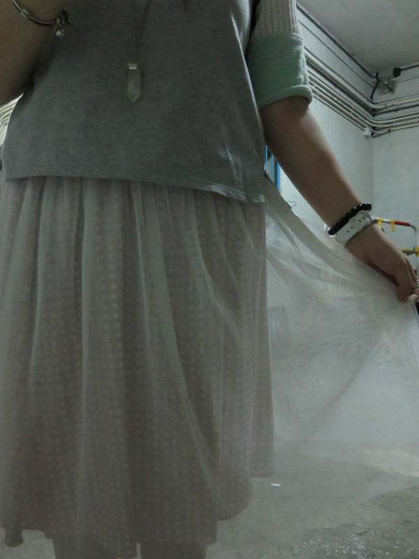 無品牌 的 紗裙