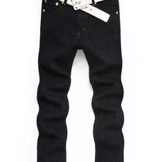 PLAYER 的 黑色直筒長褲