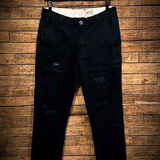 "DOUBLE DOG 的 VINTAGE LONG PANT ""WASHED"""