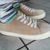 PLAIN-ME 的 米色厚底休閒鞋