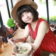 泰國市集 的 竹編帽