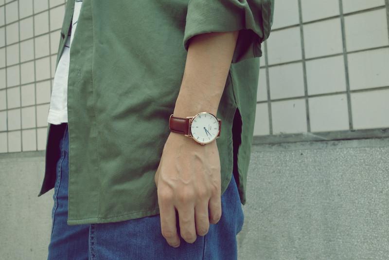 DANIEL WELLINGTON 的 手錶