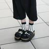 無品牌 的 厚底拖鞋