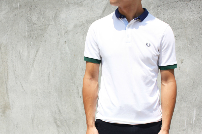 FRED PERRY 的 POLO衫