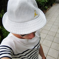 JORDAN BRAND 的 JORDAN古著編織紳士帽