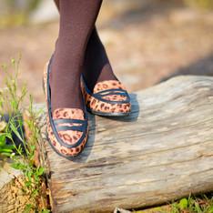 ASOS 的 豹紋樂福鞋