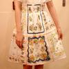 MYSTERY 的 拼布裙