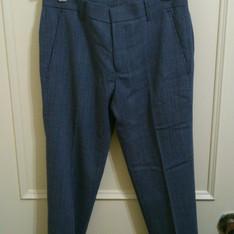 PLAIN-ME 自製商品  的 點紋九分西裝褲