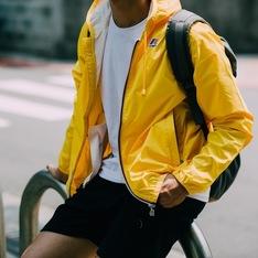 K-WAY 的 防雨夾克