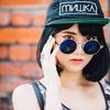XOXO GIRL 的 水銀墨鏡