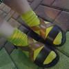 涼鞋配襪子