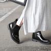 無品牌 的 漆皮尖頭短靴