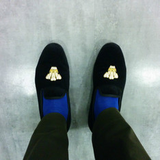 CROCKETT & JONES 的 SLIPPER