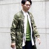 JACKET BURMANS LIGHT WEIGHT PARKA WAVE CAMO