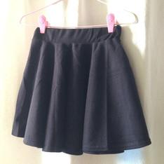 無品牌 的 黑色傘狀裙
