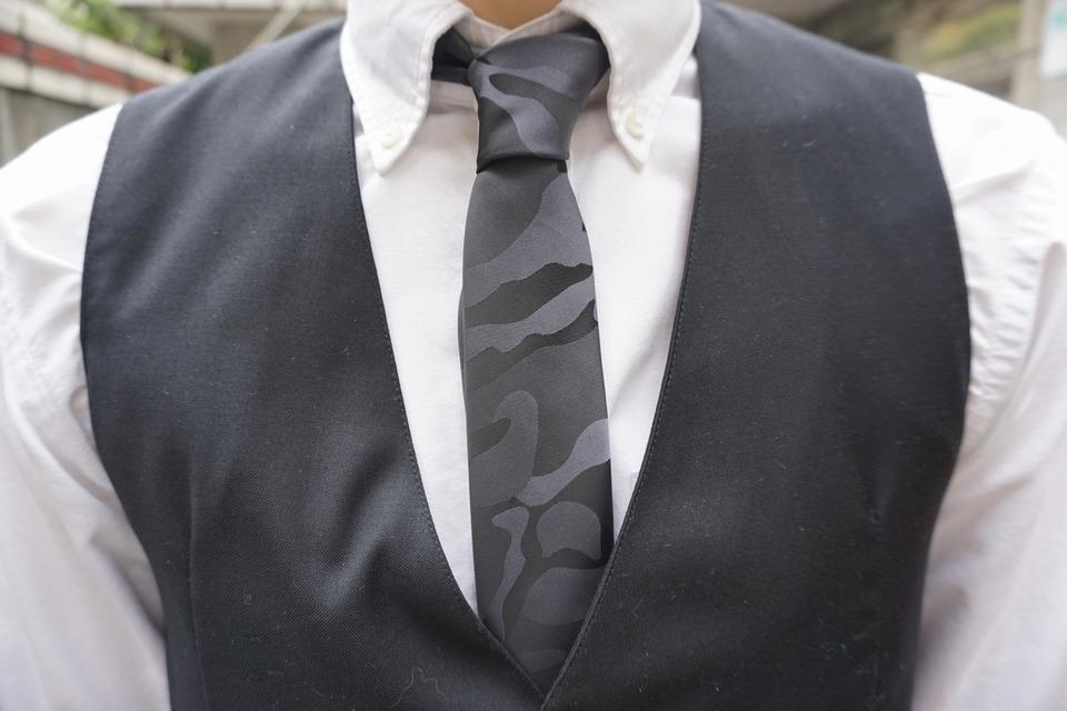 IMAGE 的 迷彩領帶