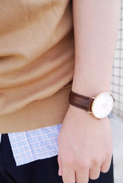 DANIEL WELLINGTON 的 DW玫瑰金腕錶