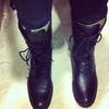 Y-3 的 軍靴