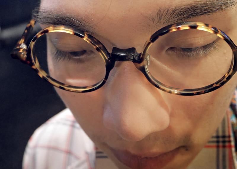 SANDWICH 的 圓形復古眼鏡